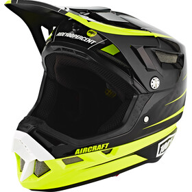 100% Aircraft DH Bike Helmet incl. Mips yellow/black